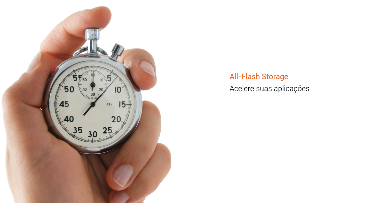 Acelere suas aplicações com armazenamento All-Flash
