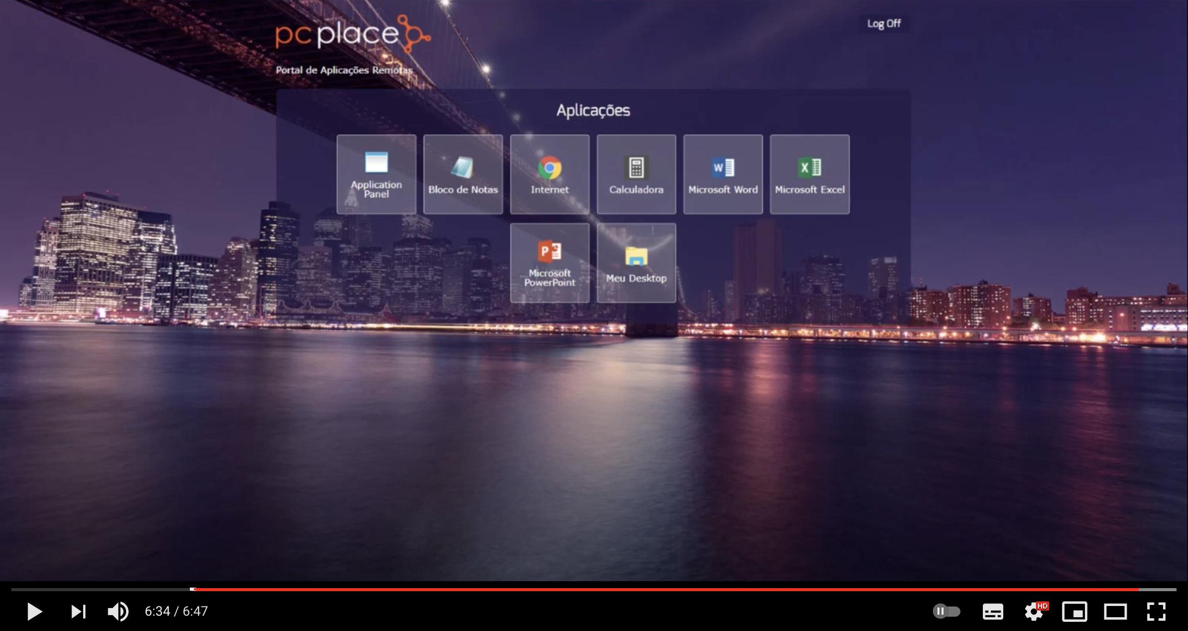 Solução de Desktop Virtual em Nuvem