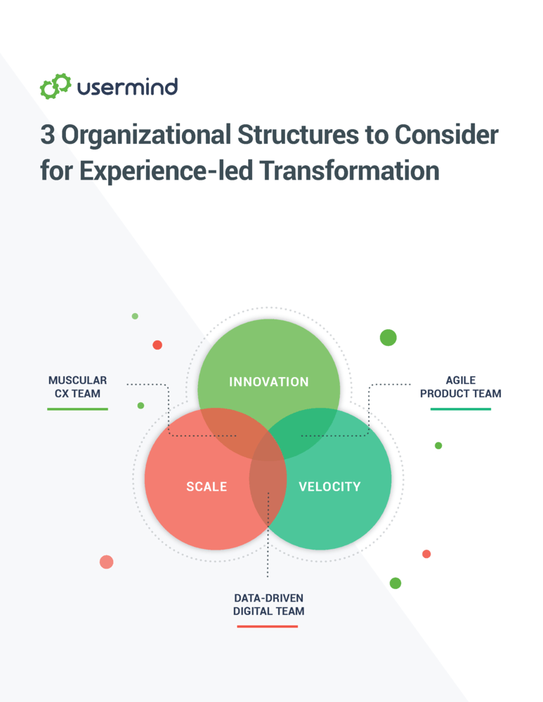 3 Organizational Structures to Consider for Experience-Led Transformation