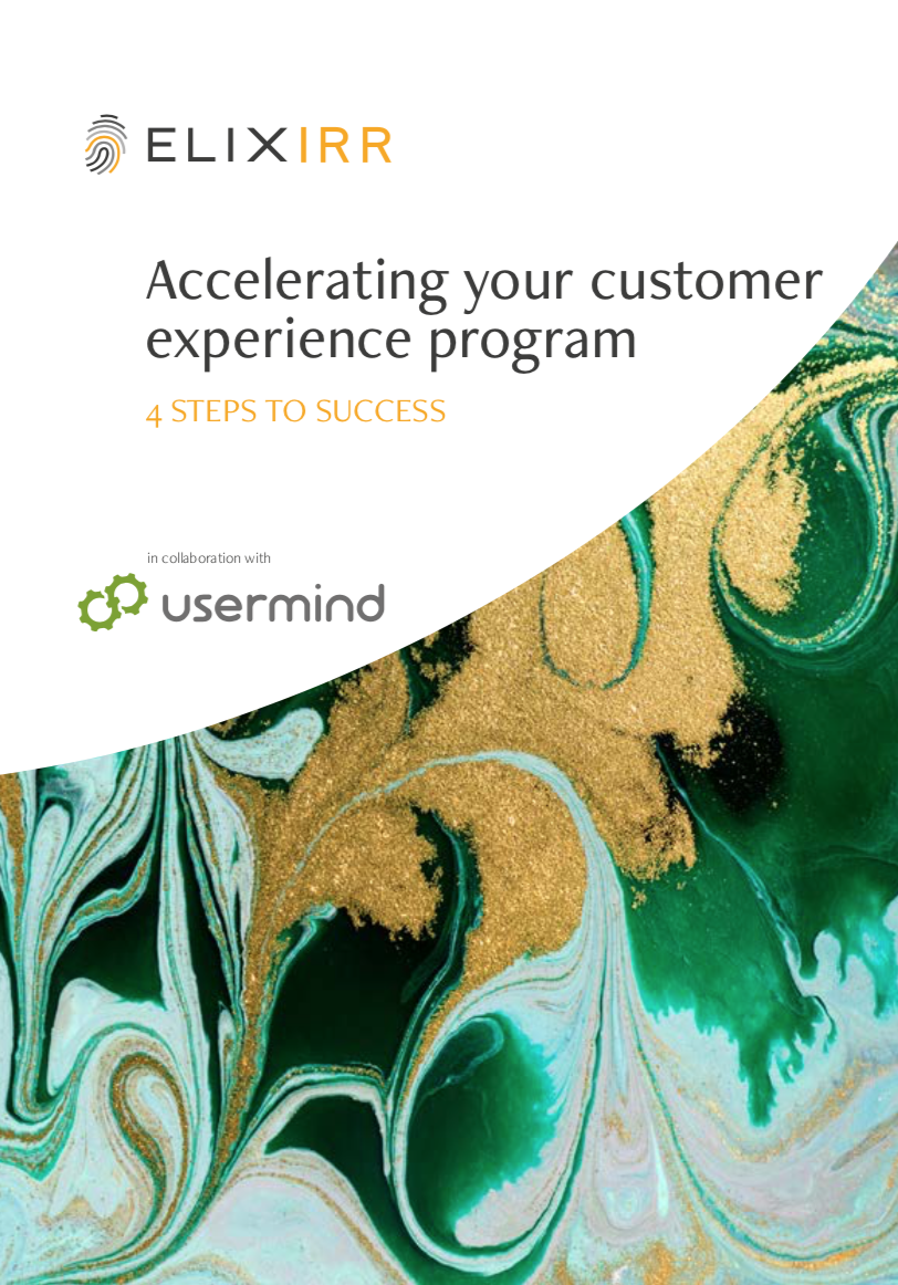Accelerating your Customer Experience Program: 4 Steps to Success