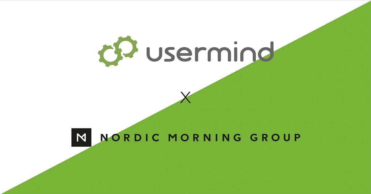 Nordic Morning Group Partners Up with Usermind