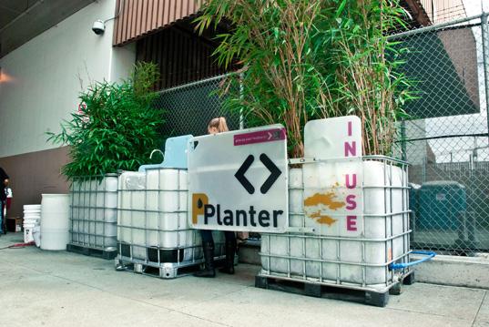 Public PPlanter Urinal Doubles as a Bamboo Garden in San Francisco