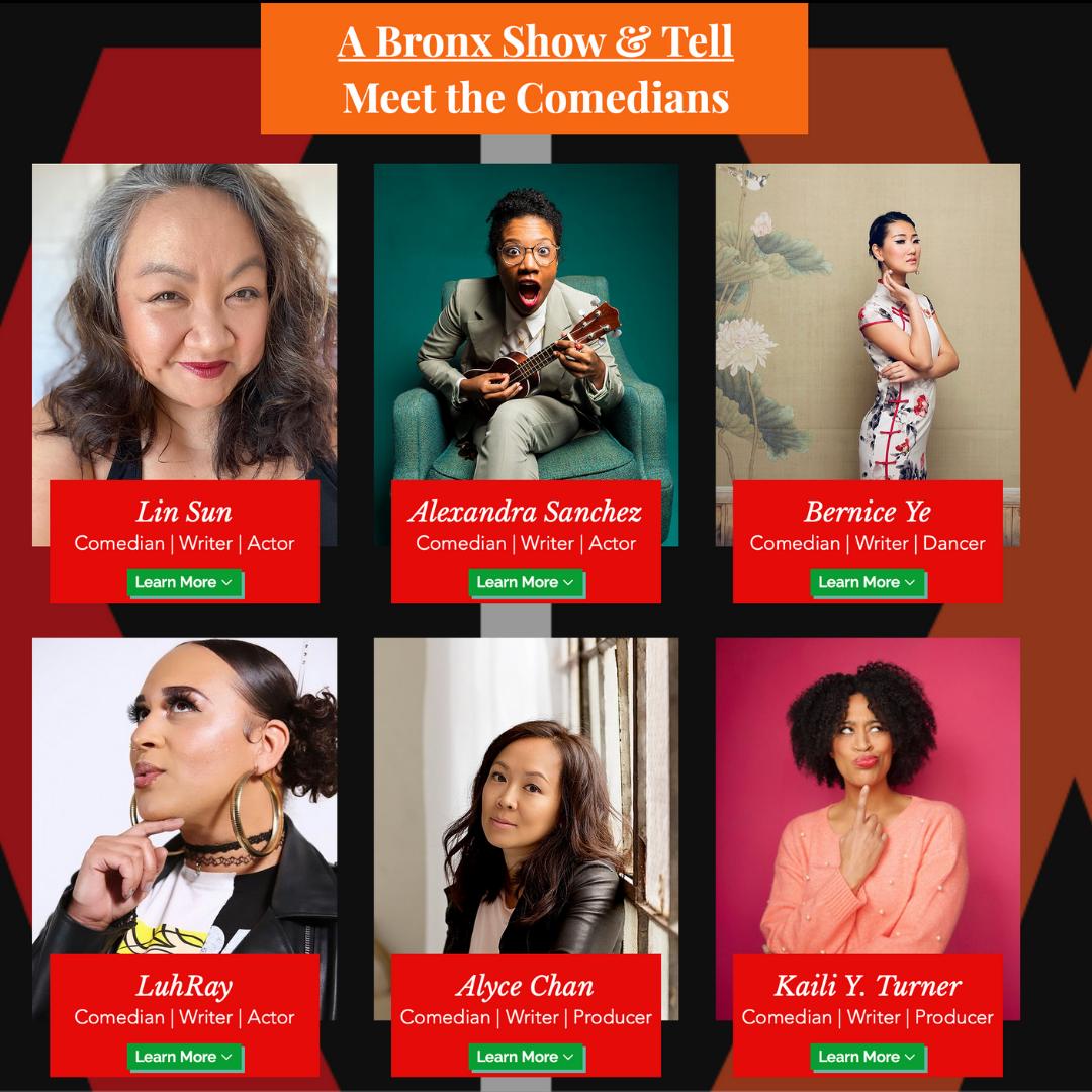 6 Female BIPOC Comedians