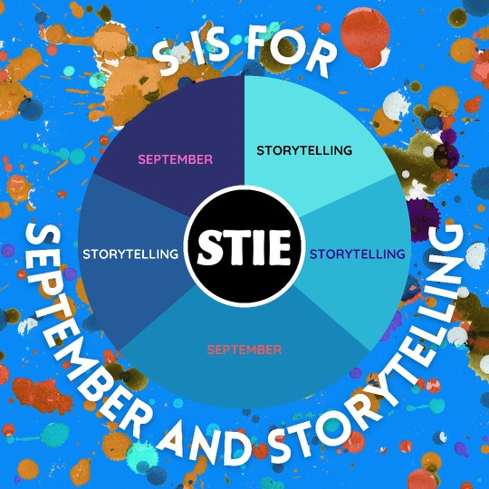 S is for September and Storytelling