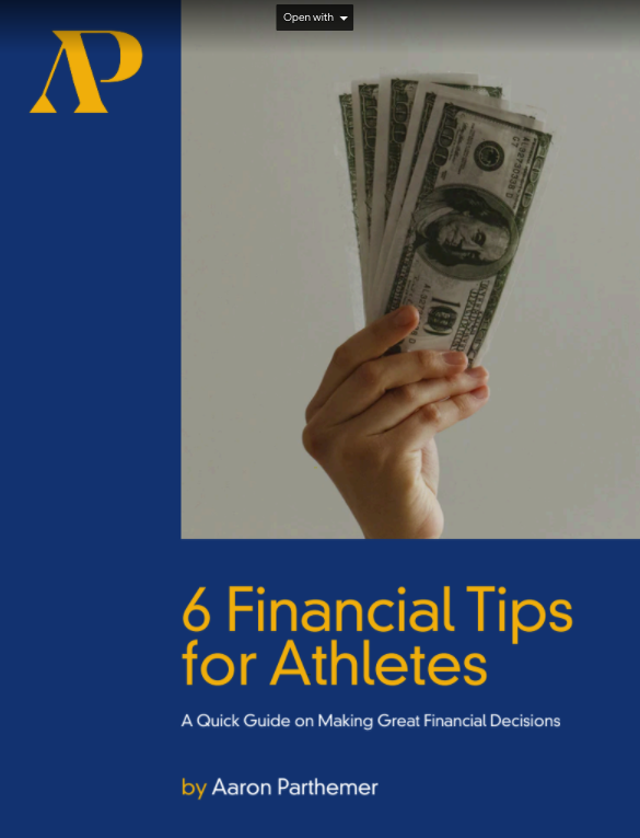 Aaron Parthemer PDF for athletes