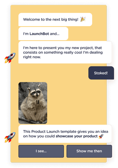 landbot_product_launch_chatbot_template