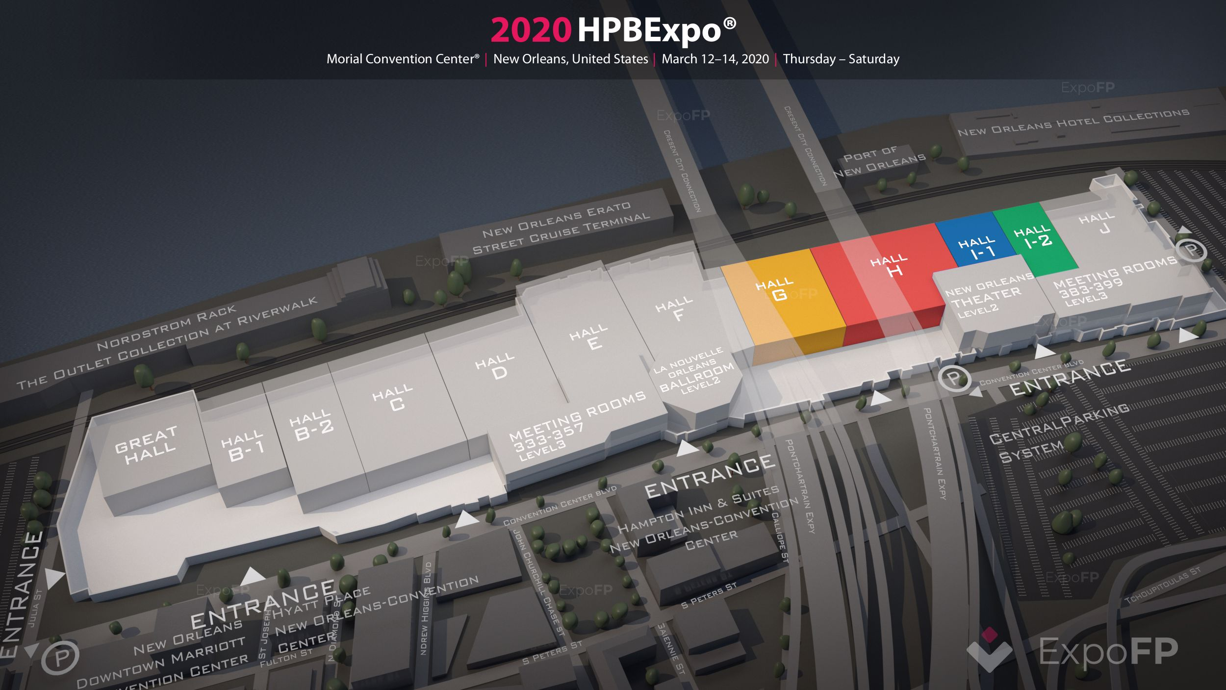HPB Expo in New Orleans, LA