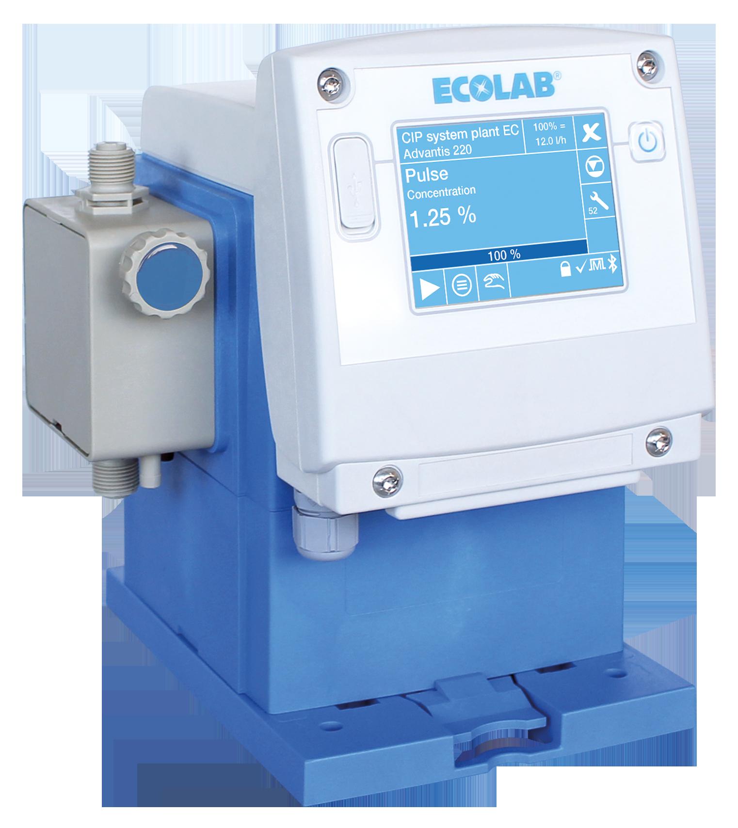 Ecolab membrandoseringspumper