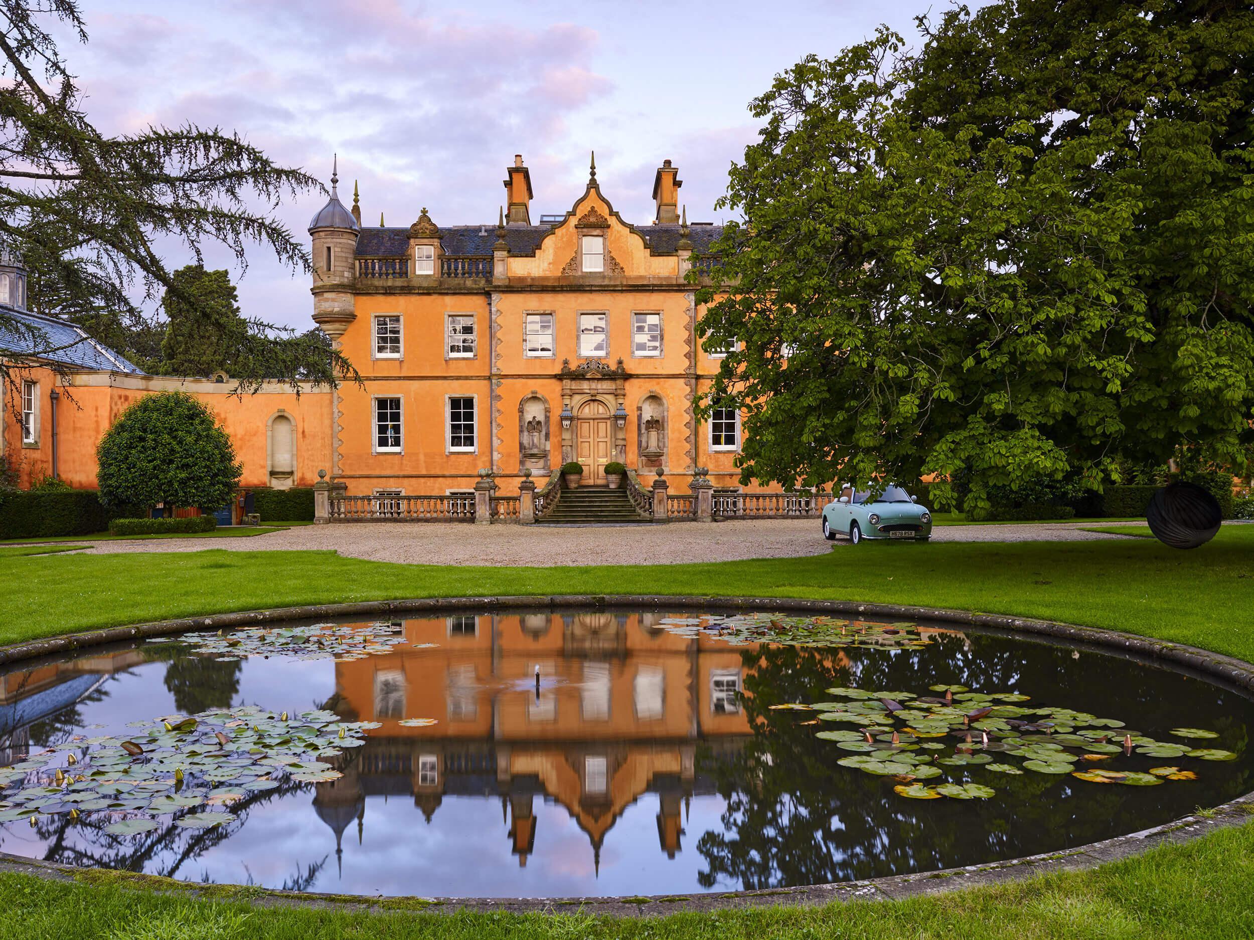 Garden near Edinburgh