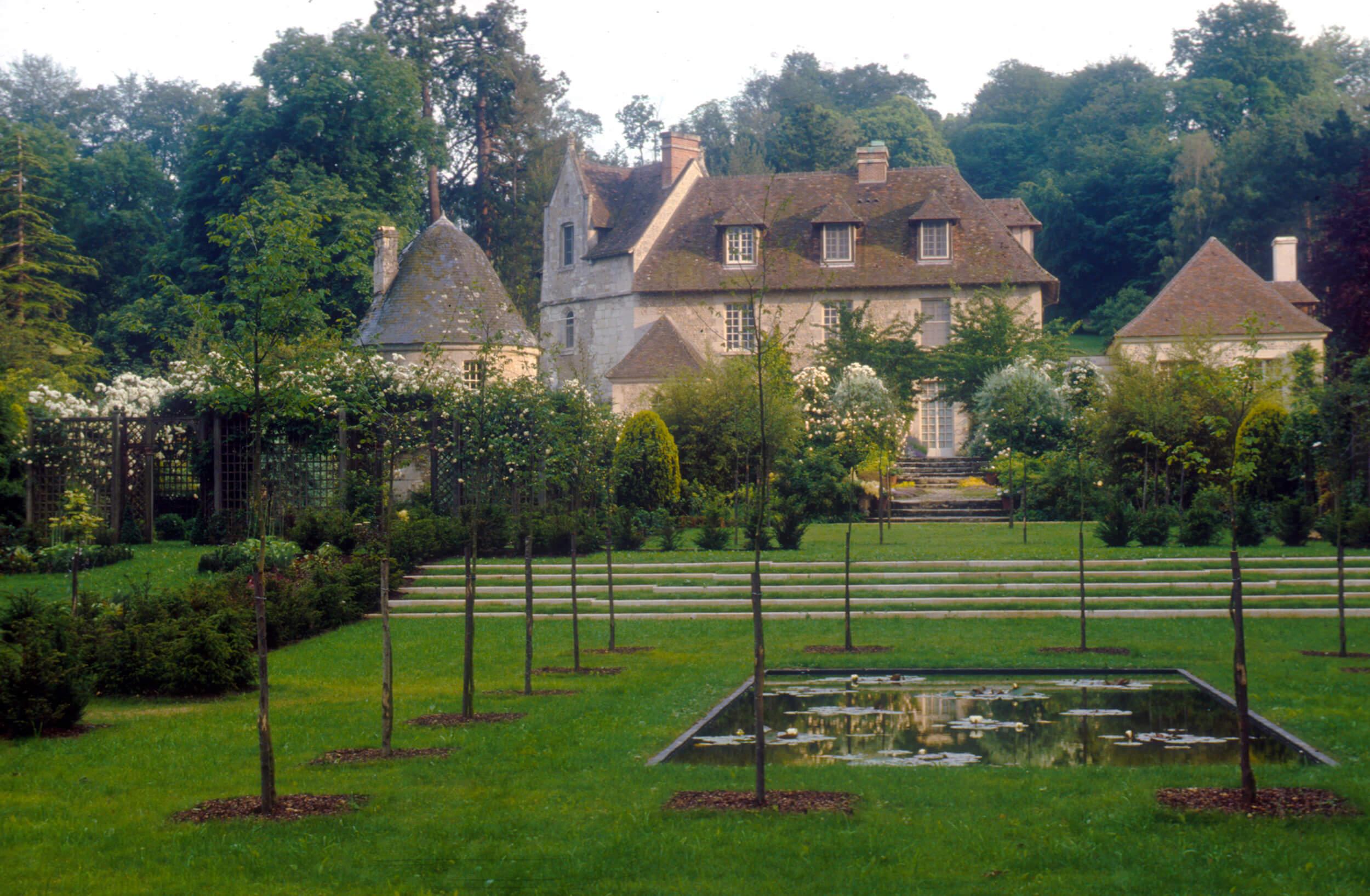 Garden in Normandy