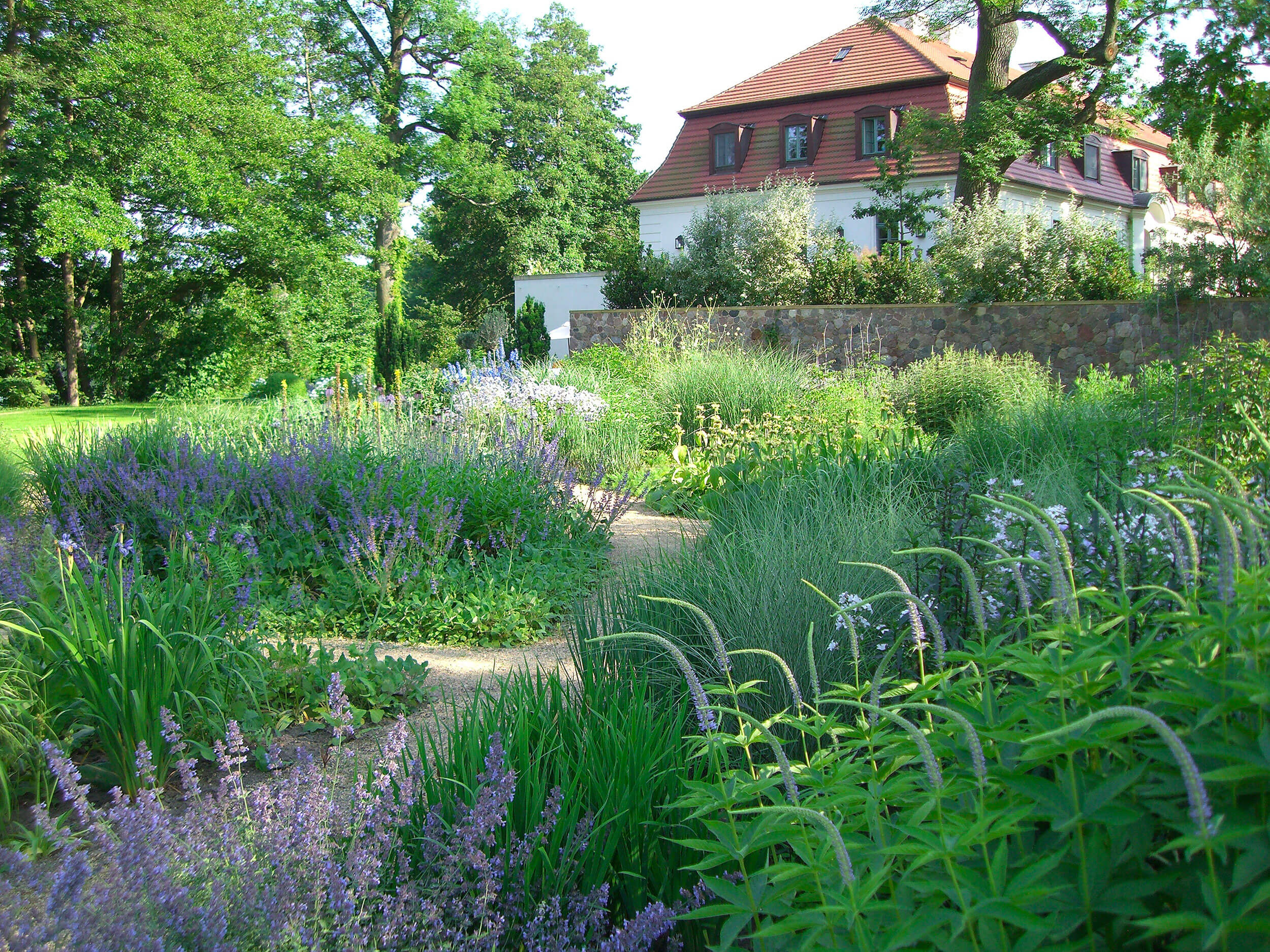Garden near Berlin, Germany