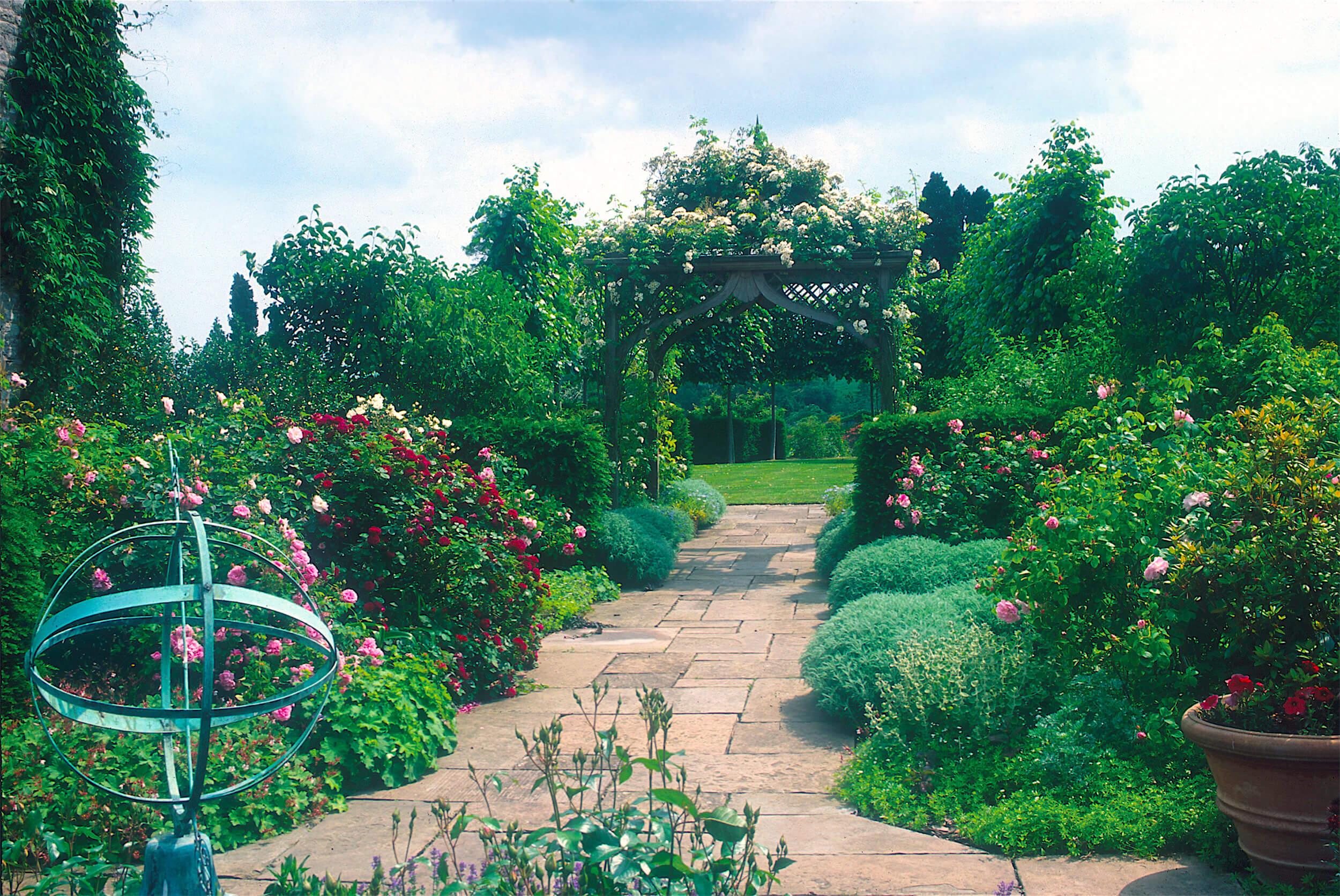 Garden in The Malvern Hills