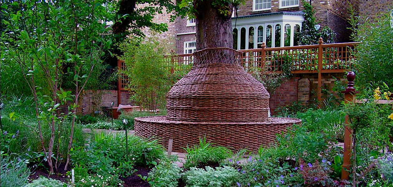 Garden in Kensington, London