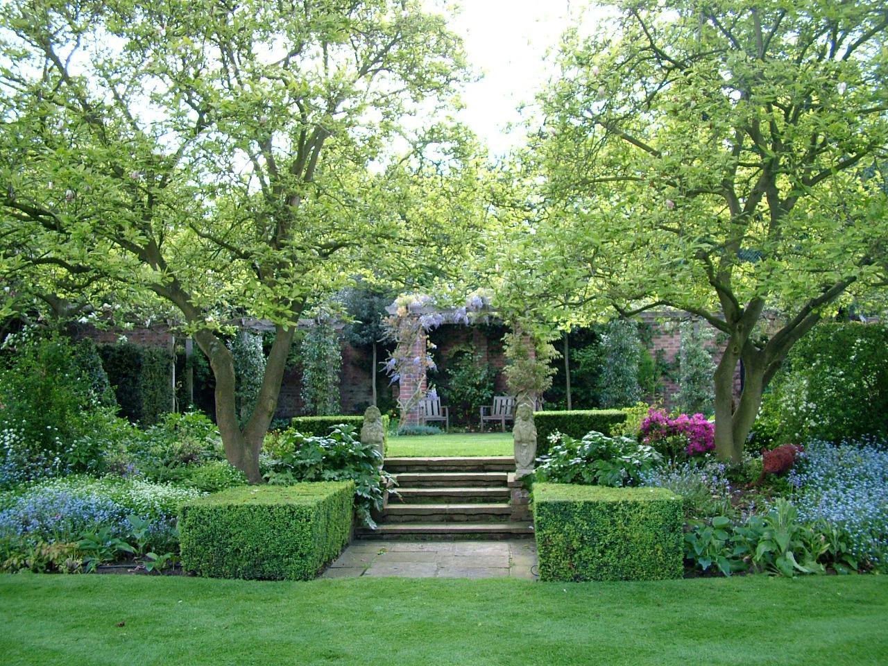 Garden on Hampstead Heath, London