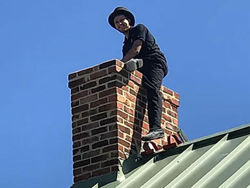 annual chimney cleaning