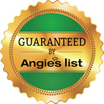 we are guaranteed by angies list