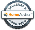 we are homeadvisor screened and approved