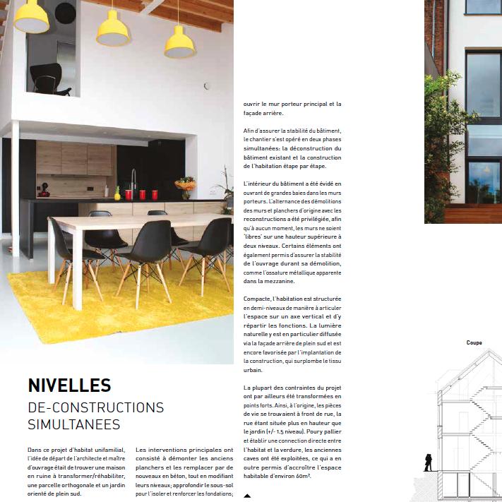 focus archi - novembre 2018 - Dé-constructions simultanées - Nivelles