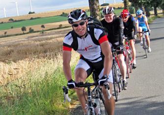 Rennrad Touren Baumberge
