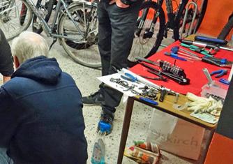 Reparatur Workshop Bikestation