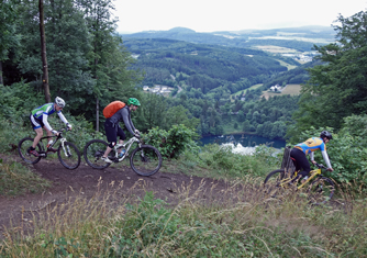 Mountainbike Singletrail Camp