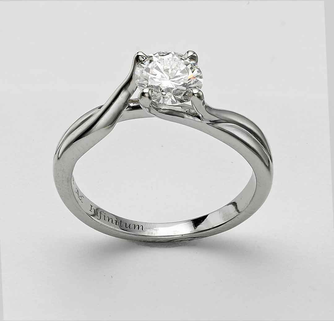 engagement ring london hatton garden by heirloom