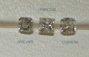 what is the best square diamond shape?