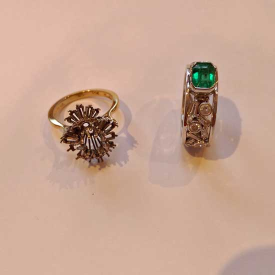 Before and after rings