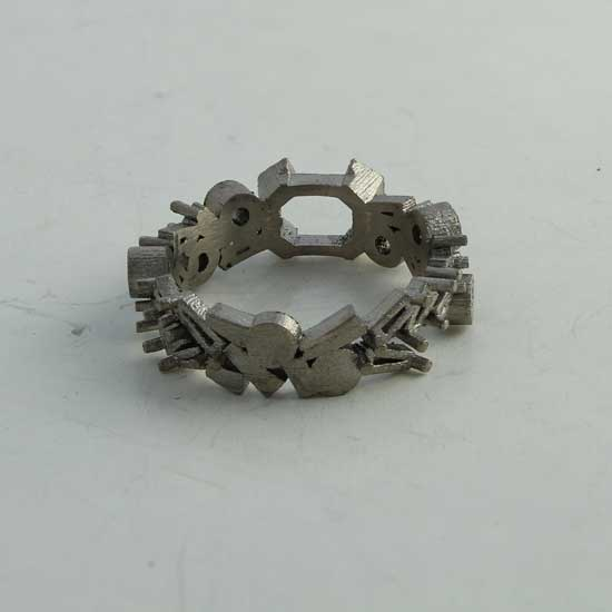 Cast ring setting for remodelling