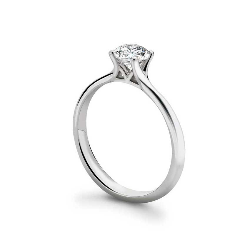 Bette Engagement Ring Platinum & Diamonds Heirloom Contemporaries