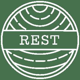 Rest Logo White