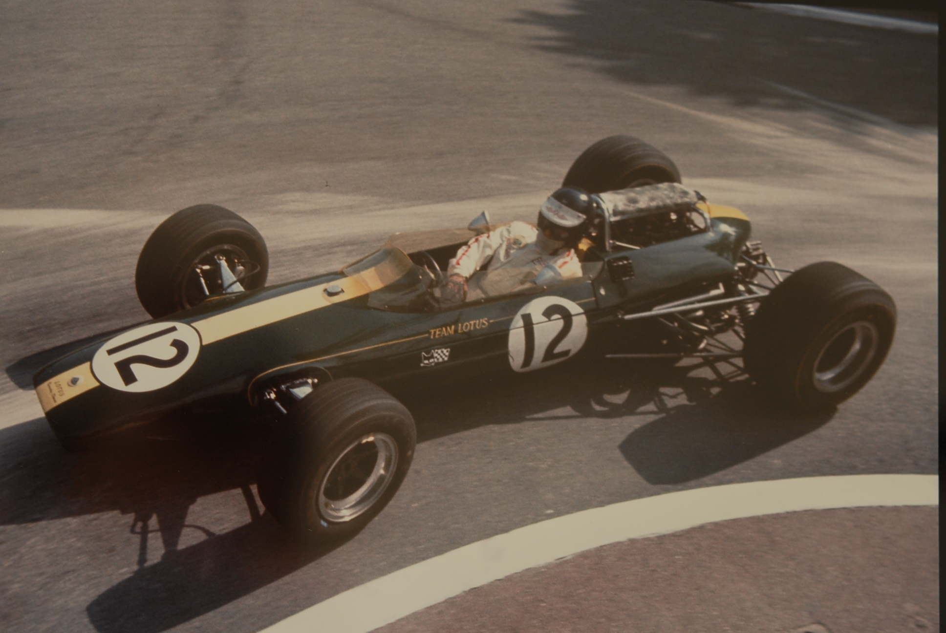 Jim Clark Photograph Album by Geoff Goddard