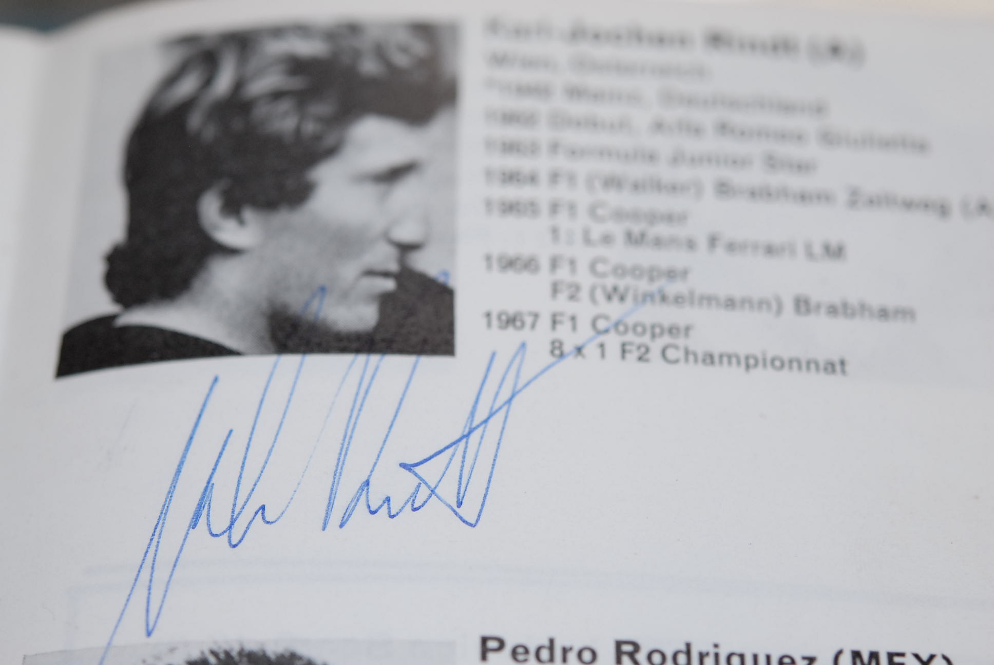 Signed FIA Year Book