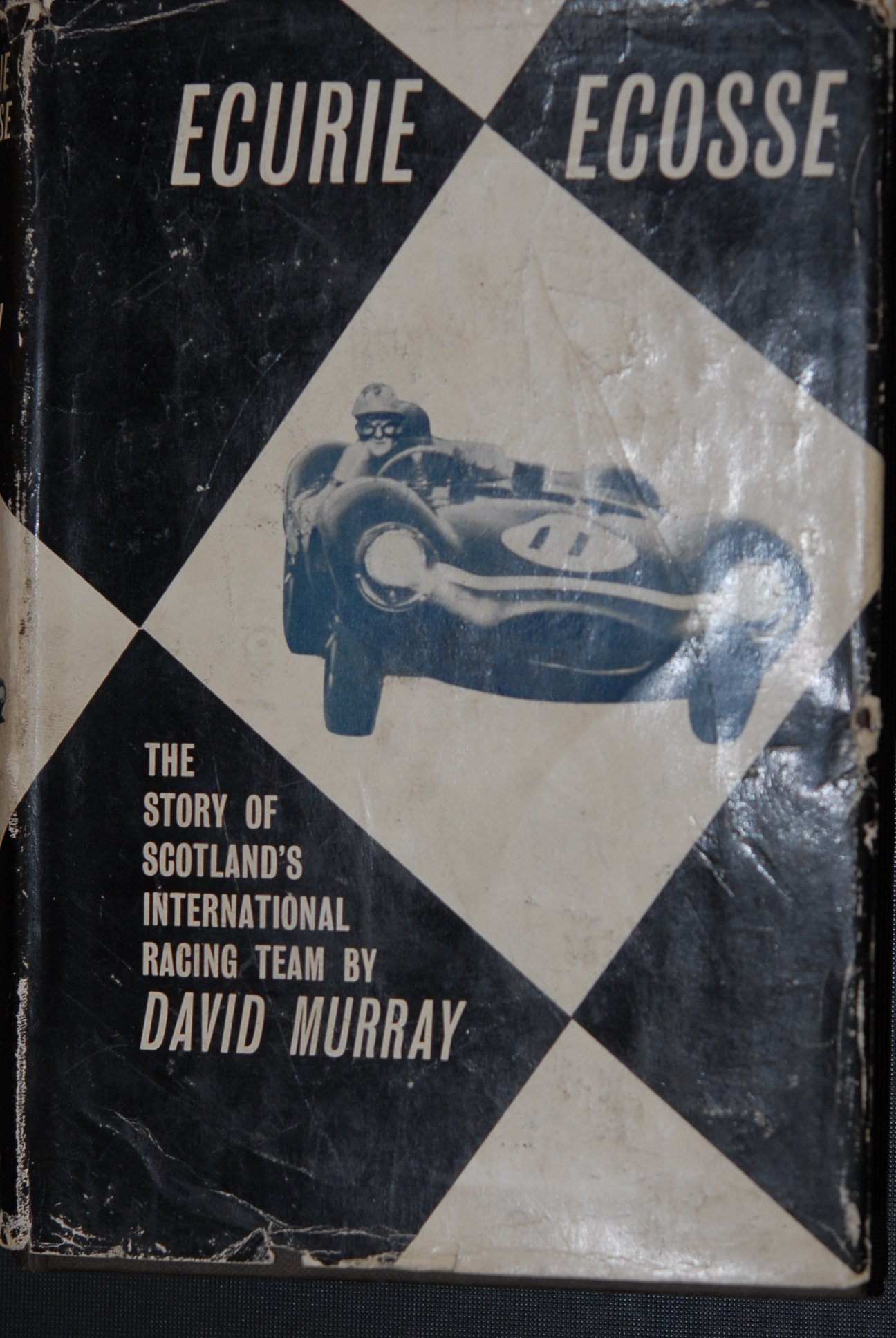 Ecurie Ecosse Book 1962, signed by David Murray