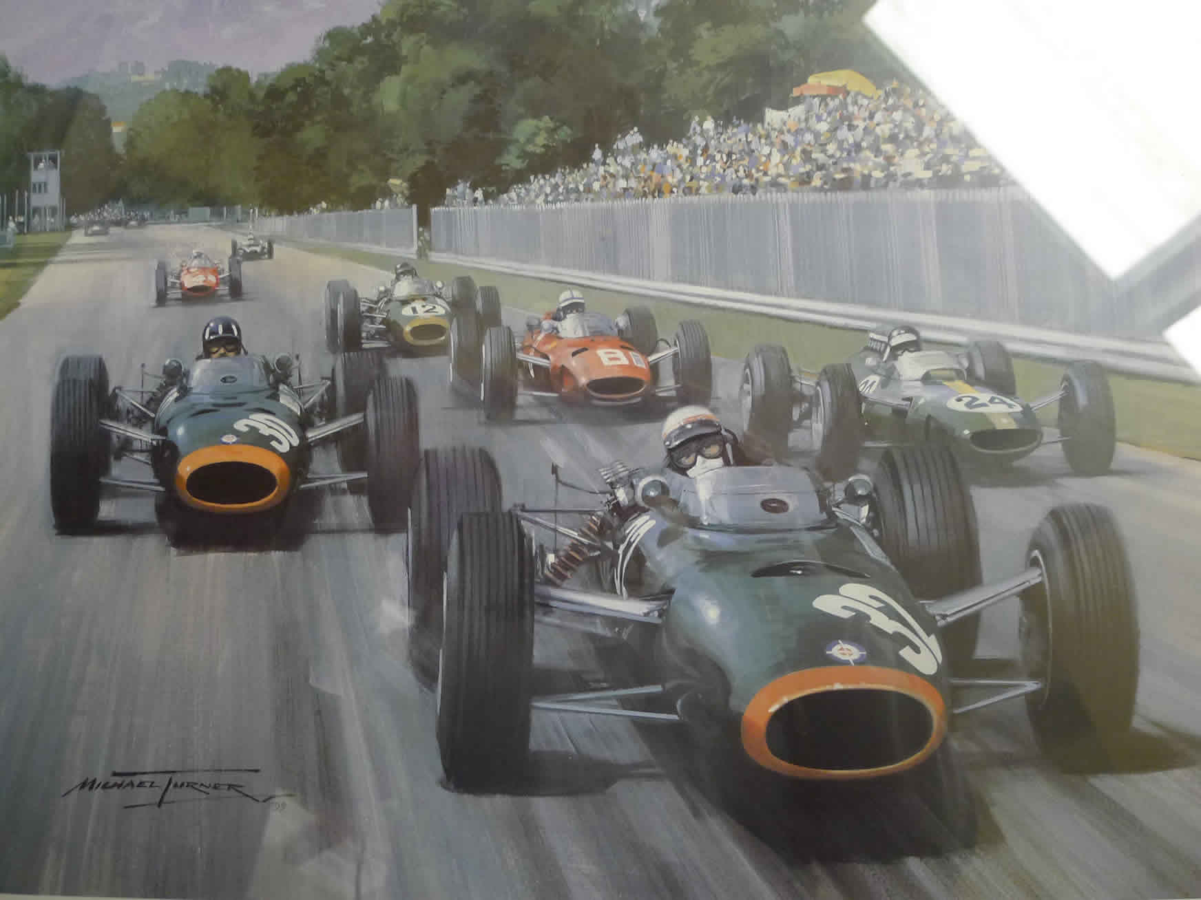 BRM – Set of 7 Michael Turner limited edition prints