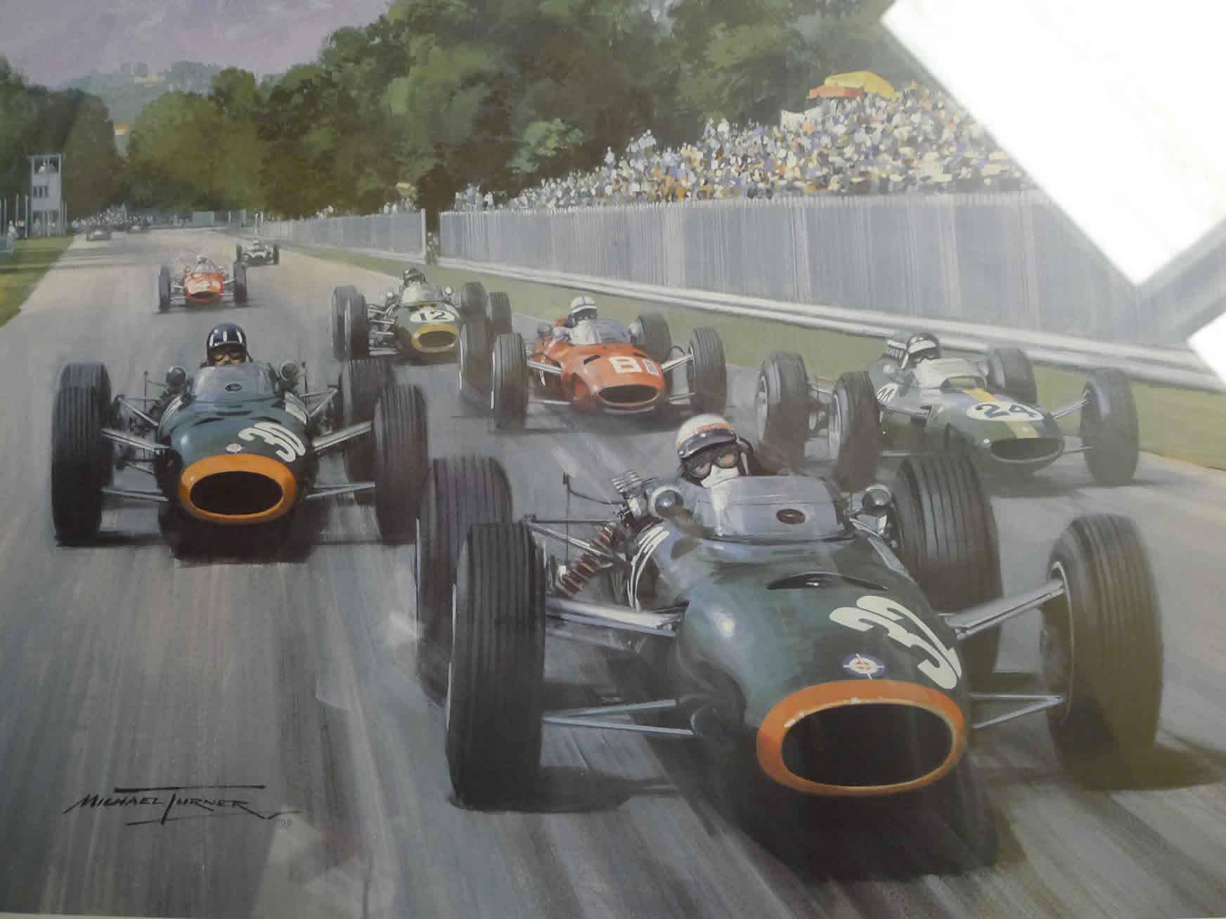 BRM – Set of 7 Michael Turner limited edition prints