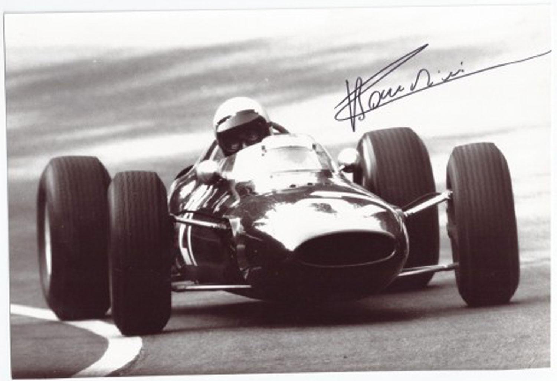 Lorenzo Bandini signed photograph