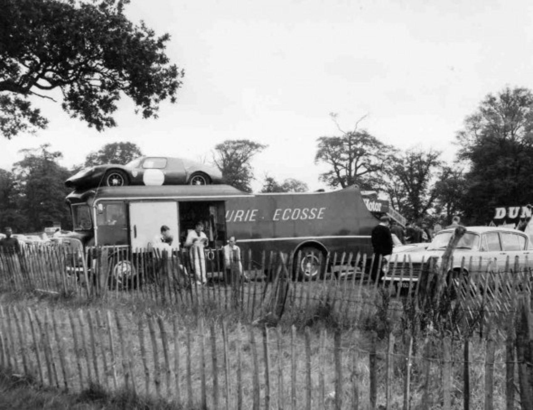Ecurie Ecosse transporter photograph