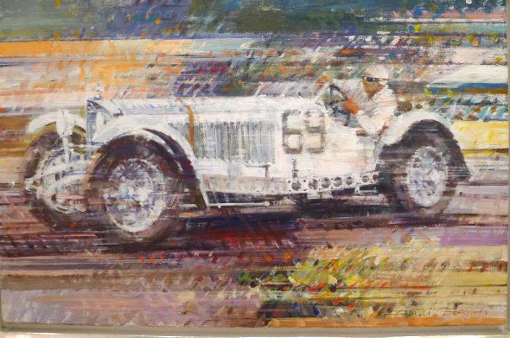 Hans Stuck Mercedes SSKL by Dexter Brown