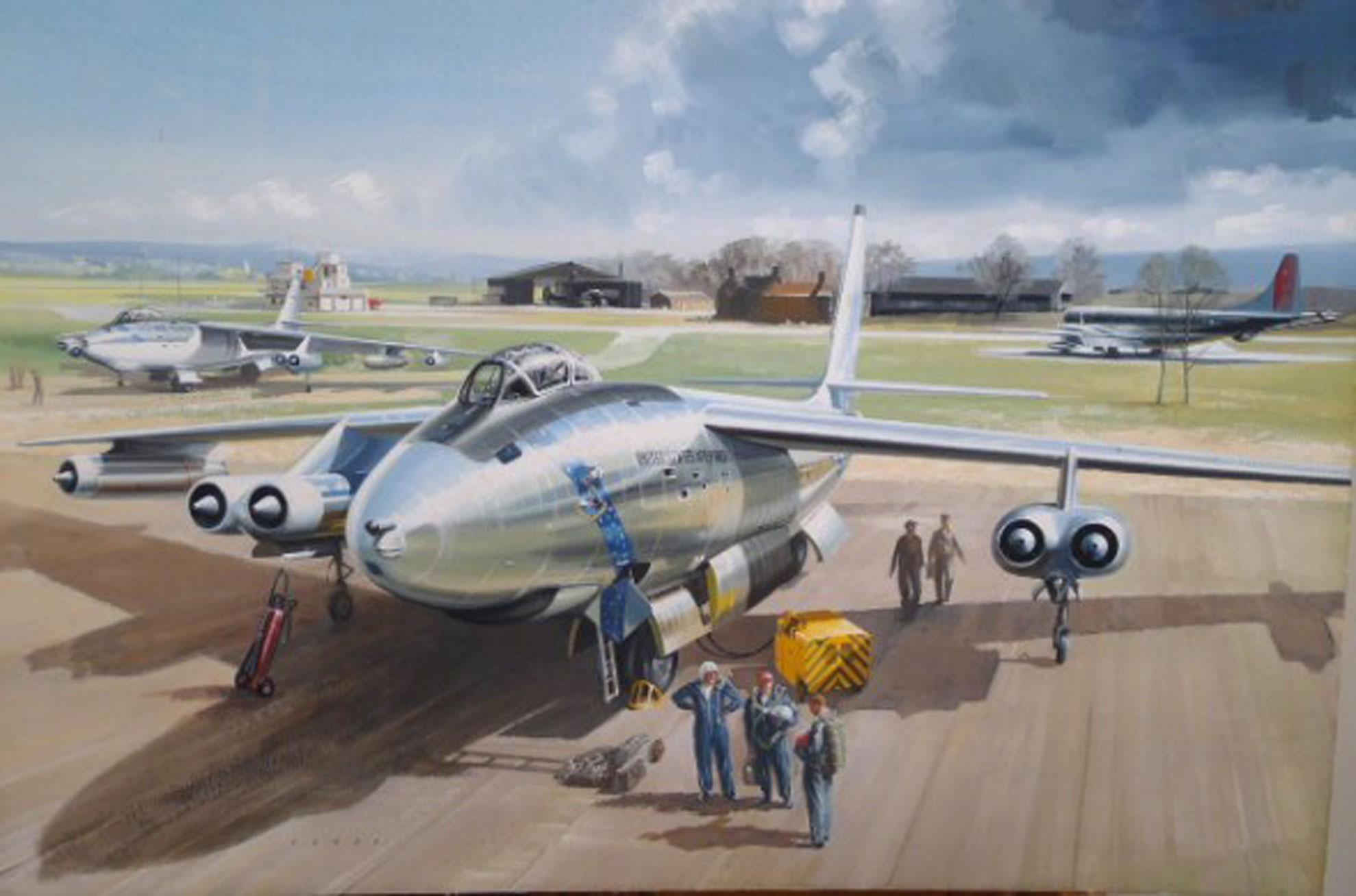 John Young Original Aviation Painting