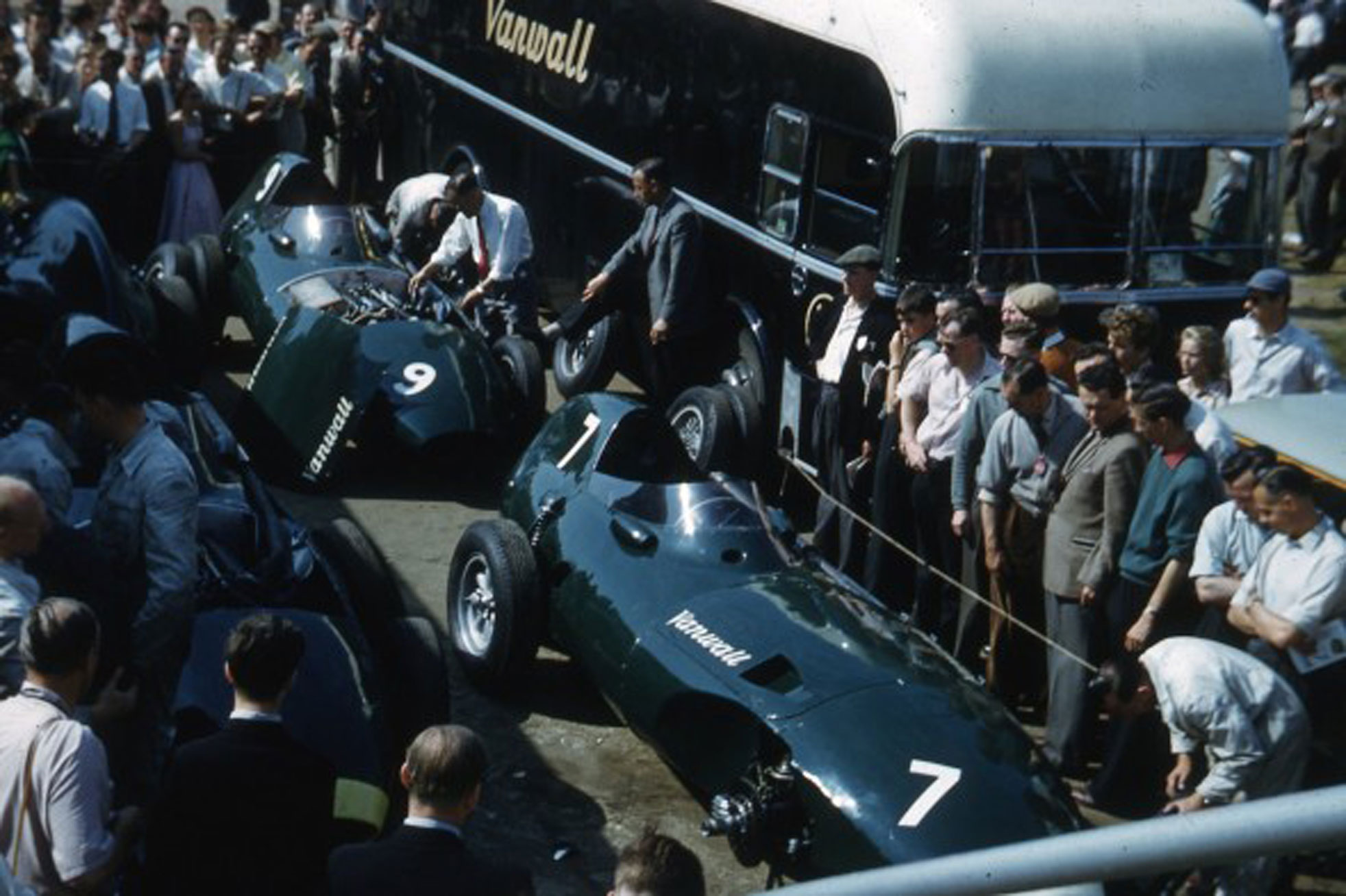 Vanwalls 1958 British Grand Prix