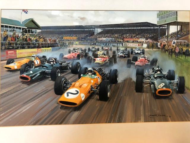 Silverstone McLaren BRM