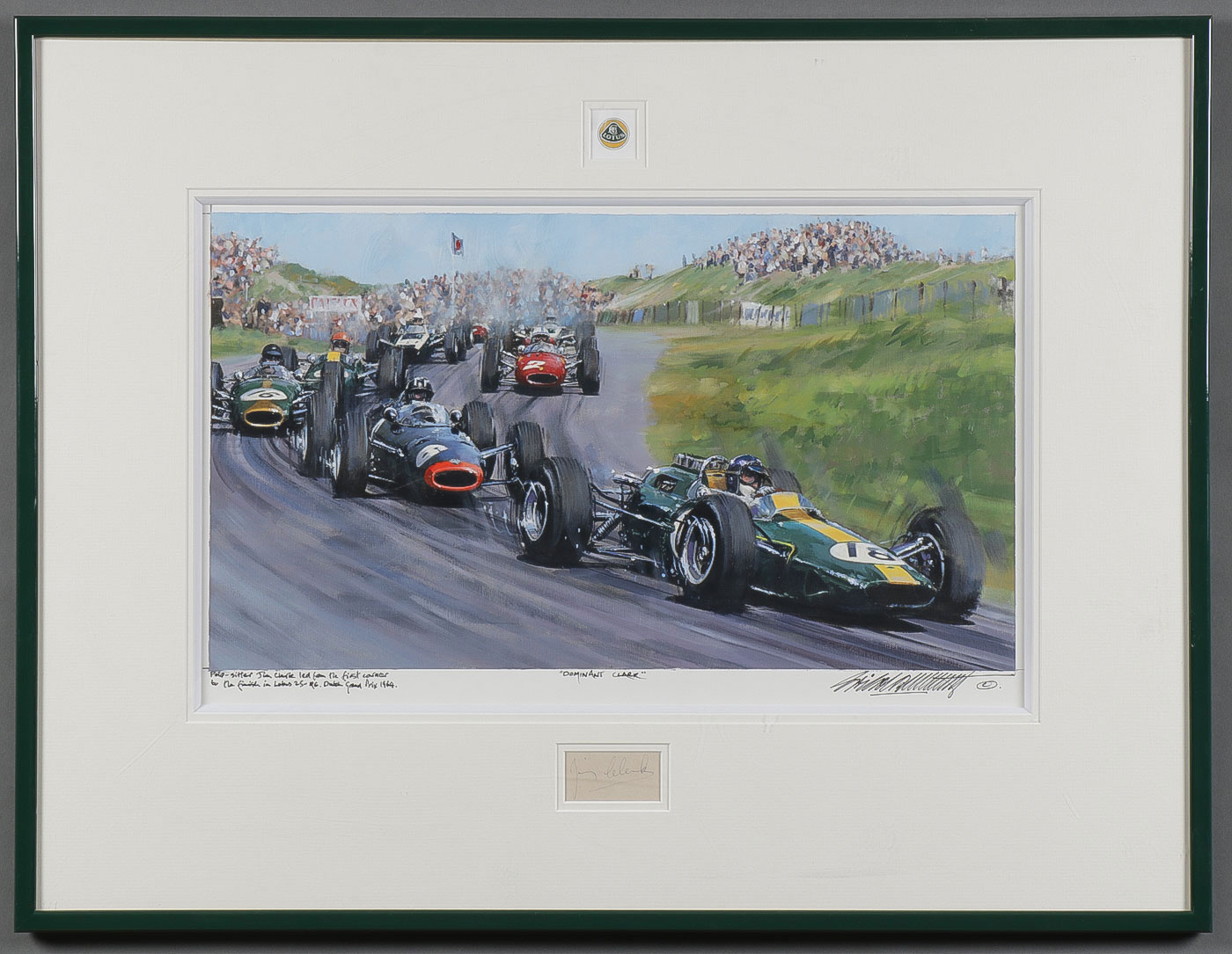 Lotus Jim Clark Zandvoort 1964