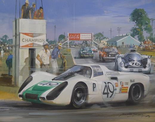 Sebring Porsche Michael Turner Le Mans