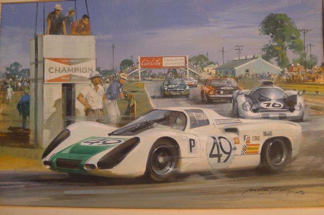 Porsche 907 Sebring 1968
