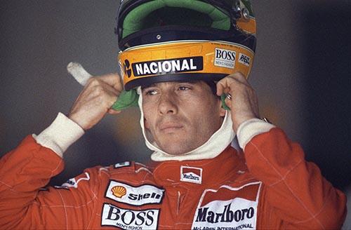 Ayrton Senna McLaren Formula 1 Canada