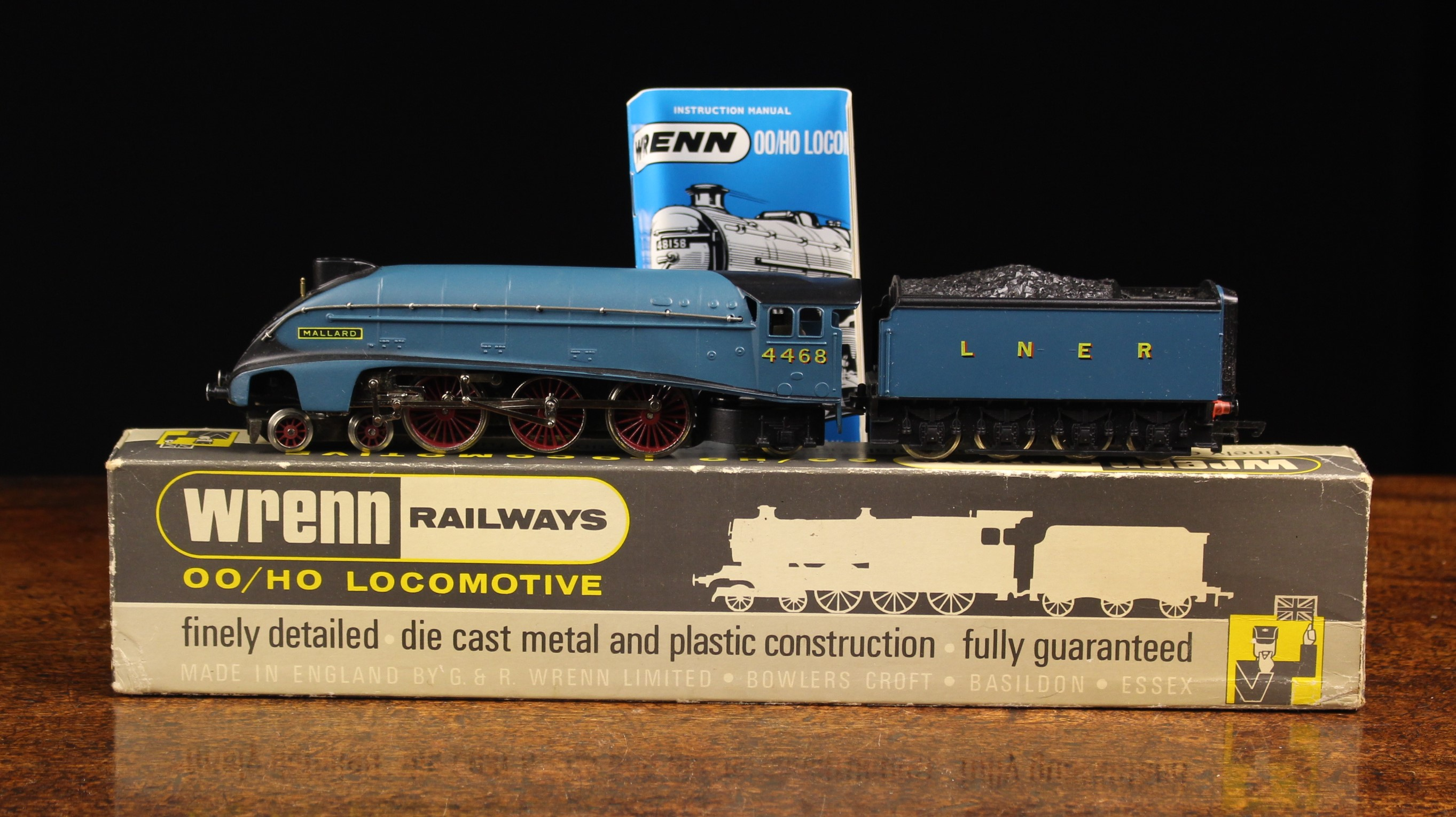 """Wrenn P4 """"MALLARD"""" NO.4468 LNER Garter Blue Class A4 Pacific"""