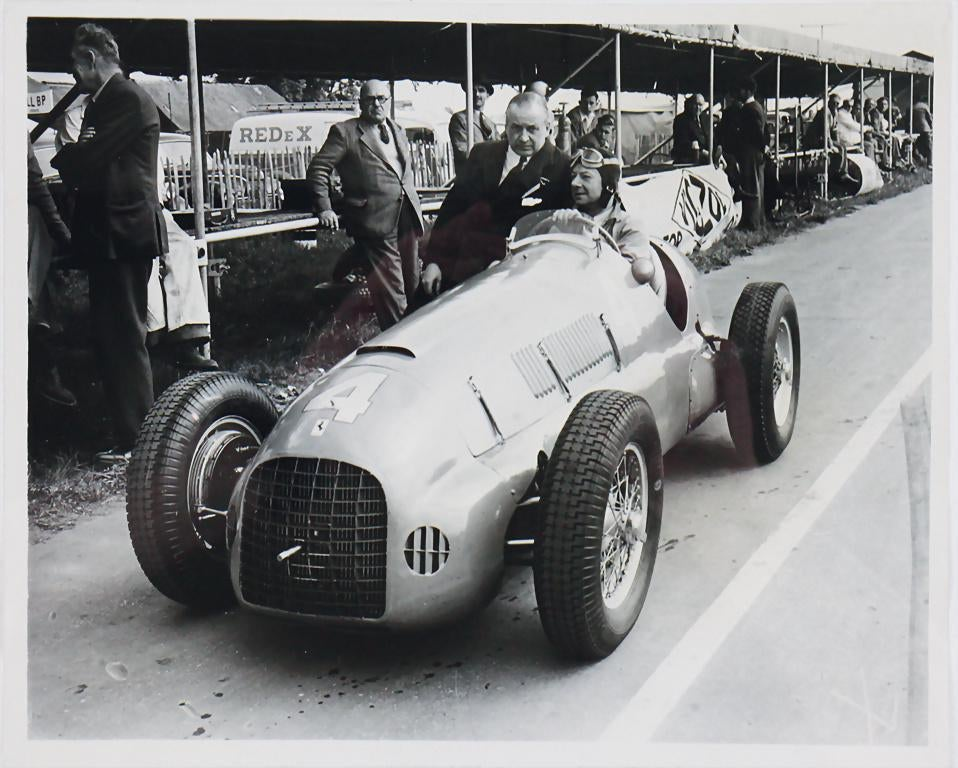Raymond Mays Silverstone Thinwall Special