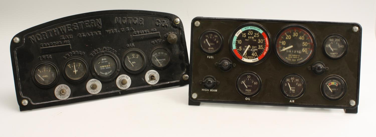 American dashboard panels