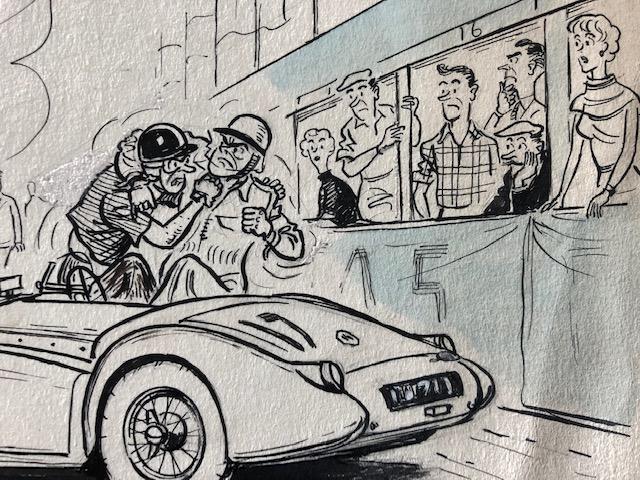 Sports Car Race start